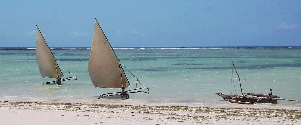 At a Zanzibar beach with Africa Adventure Travel Advisor