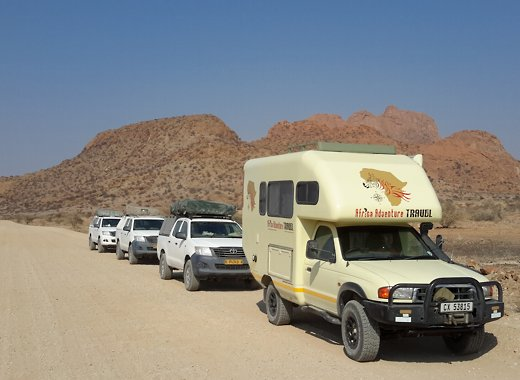 Africa Adventure Travel, guided self-drive tours & safaris