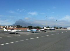 Aerosport airfield in Cape Town and in Klipheuwel