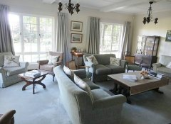 Guest lounge of Cedar Garden B&B in Underberg