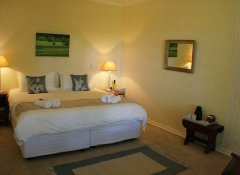 Comfortable guest room at Cedar Garden in Underberg