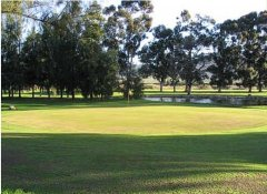 Citrusdal Golf Club in South Africa at the Olifants River