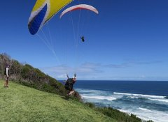 Dolphin Paragliding launch site on the Garden Route