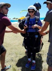 Dolphin Paragliding school for children in South Africa