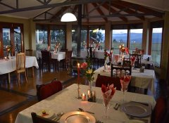 Drakensberg Mountain Retreat's restaurant in Bergville