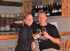 Wine tasting at Dunstone Country Estate in South Africa