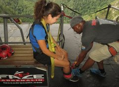 Safety first for Bungy Jumping with Face Adrenalin