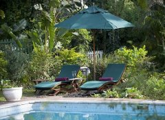 Relax at the pool at Hacklewood Hill in Port Elizabeth