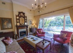 Lounge with garden access at Hacklewood Hill in Port Elizabeth