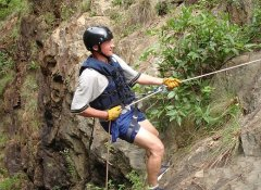 Abseiling with Magoebaskloof Adventures in Limpopo