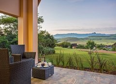 Montusi Mountain Lodge, accommodation in Bergville