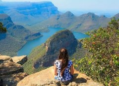 At Blyde River Canyon with Nomjey Tours & Adventures