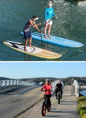 SUP and electric biking with Ocean Odyssey in Knysna