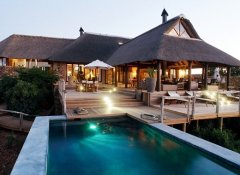 Pool at Pumba Private Game Reserve in Grahamstown