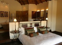 Double room at Pumba Private Game Reserve in Grahamstown