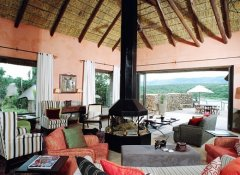 Lounge at Pumba Private Game Reserve in Grahamstown