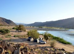 Camping at the Diamond Coast with Richtersveld Tours