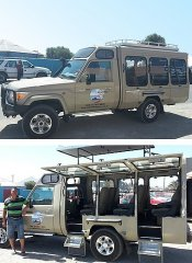 Richtersveld Tours in Port Nolloth provide own transport