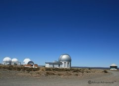 SALT in Sutherland and observatory in South Africa