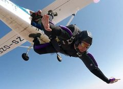 Skydive Kruger's professional skydiver from Hazyview