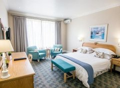 Double room at The Beach Hotel in Port Elizabeth, Eastern Cape