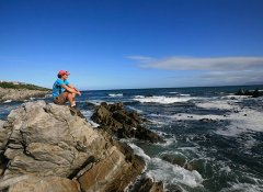 The Fynbos Trail with a coastal hike close to Hermanus