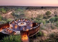 Boma evening with Traipsing Africa at a Kruger Park lodge