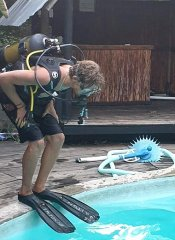 Dive course at Triton Dive Charters Lodge in Sodwana Bay
