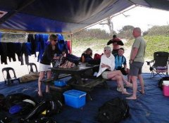 Dive equipment from Triton Dive Charters in Sodwana Bay