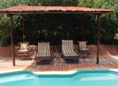 Swimming pool at Valley Bushveld Country Lodge in Addo