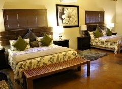 Family room at Valley Bushveld Country Lodge in Addo