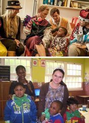 Social work with children in Cape Town with World Unite!